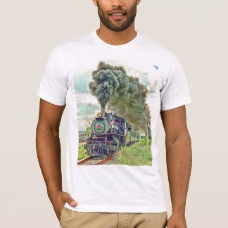 Camisa do comboio de passageiros do vapor