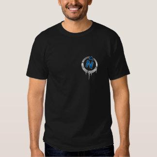 Camisa do compasso de FNLX Camisetas