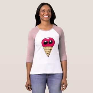Camisa do cone do sorvete de Chibi