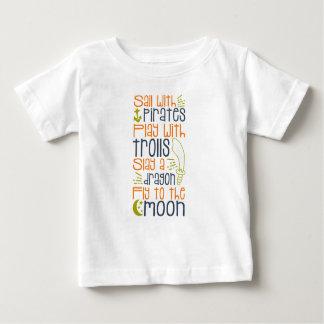 Camisa do conto de fadas de Little Boy