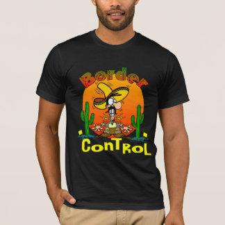 Camisa do controlo de fronteiras