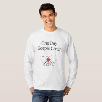 Camisa do coro do evangelho dia
