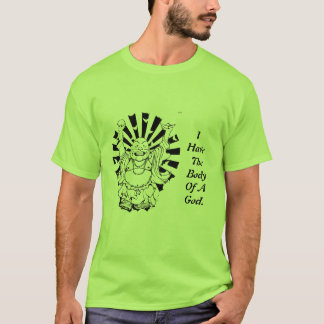 Camisa do corpo de Budha