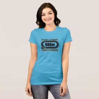 Camisa do corredor de distância média do atletismo