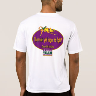 Camisa do corredor de Mike da equipe de TNT John Camiseta