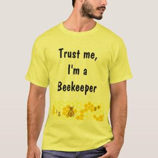 Camisa do costume da arte do favo de mel do