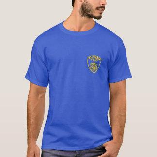 Camisa do crachá da polícia da cidade de Baltimore