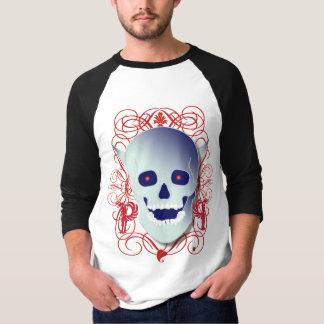 Camisa do crânio camisetas