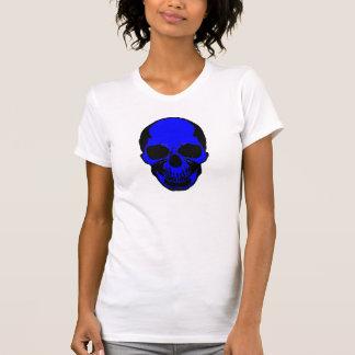 Camisa do crânio - crânio dos ossos desencapados