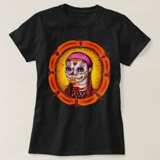 Camisa do crânio do açúcar do Adalia