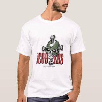 Camisa do crânio do patinete