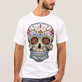 Camisa do CRÂNIO T do AÇÚCAR de CALAVERA