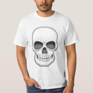 Camisa do crânio t-shirts