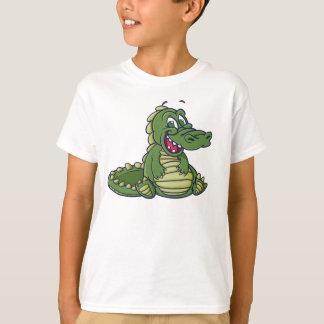 Camisa do crocodilo T dos miúdos