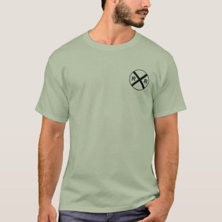Camisa do cruzamento de estrada de ferro