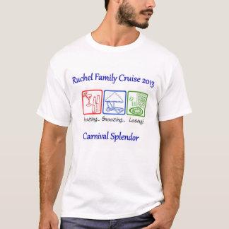 Camisa do cruzeiro da família de Ruchel