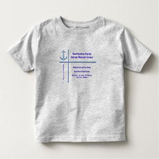 Camisa do cruzeiro do grupo da âncora do forro camisetas