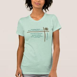 Camisa do cruzeiro do grupo da roda do forro t-shirt