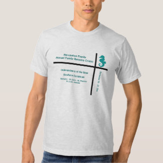 Camisa do cruzeiro do grupo do cavalo marinho do tshirt