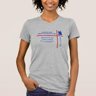 Camisa do cruzeiro do grupo do navio do forro camiseta