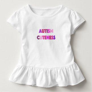 Camisa do Cuteness do autismo