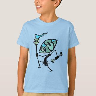 Camisa do dançarino de Tiki da tocha do crânio por