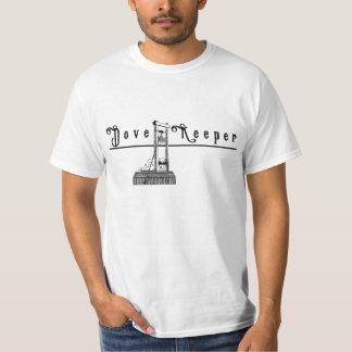 Camisa do depositário da pomba da guilhotina