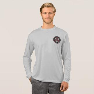 Camisa do desempenho do longsleeve dos homens
