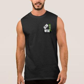 Camisa do DESGASTE da BATIDA UMA