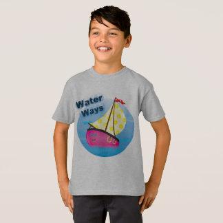 Camisa do desgaste T dos miúdos