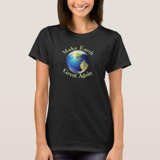 Camisa do design ambiental do Dia da Terra