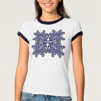 Camisa do design do abstrato do marinho t-shirts