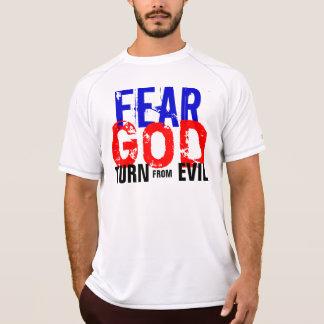 Camisa do DEUS do MEDO Tshirts
