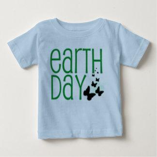 camisa do Dia da Terra do bebê