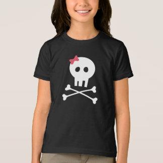 Camisa do Dia das Bruxas - crânio e Crossbones