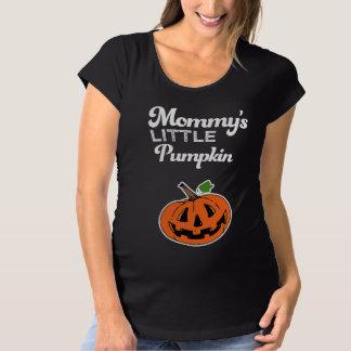 Camisa do Dia das Bruxas da abóbora da mamã pouca