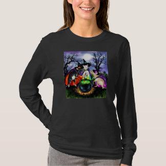 Camisa do Dia das Bruxas das bruxas de Rattie