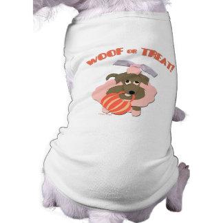 Camisa do Dia das Bruxas do animal de estimação pa Camisa Sem Mangas Para Cachorro