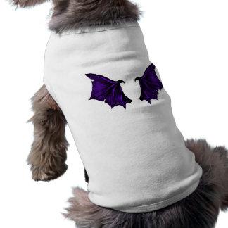 Camisa do Dia das Bruxas do cão de diabo Camisas Para Cães