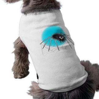 Camisa do Dia das Bruxas do cão do Spiker Roupa Para Caes