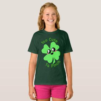 Camisa do dia de St Patrick: Demasiado bonito para