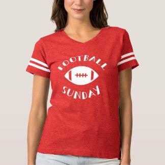 Camisa do dia do jogo de domingo do futebol