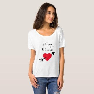 Camisa do dia dos namorados dos meus namorados das