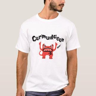 Camisa do dia dos pais t do Curmudgeon - cor clara