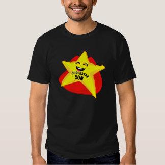 camisa do dia dos pais t do filho da estrela tshirt