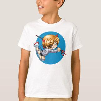 Camisa do diabo de Chibi, criança
