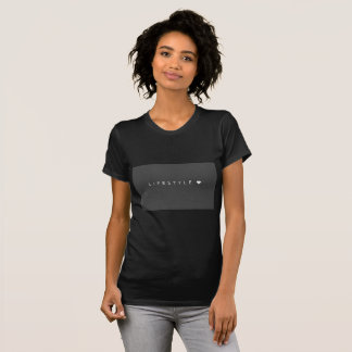Camisa do diamante t do estilo de vida