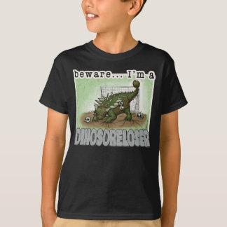 camisa do Dino-dorido-vencido T para miúdos