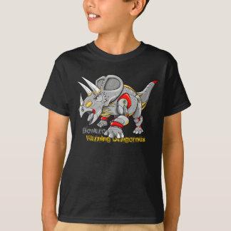 Camisa do dinossauro do Triceratops da máquina do