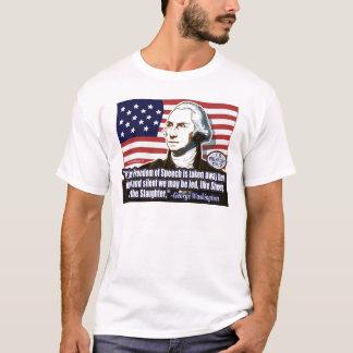 Camisa do discurso da liberdade